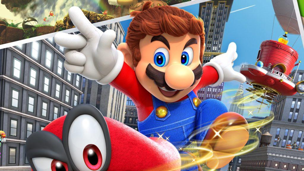 Super Mario Odyssey - лучшие экшены