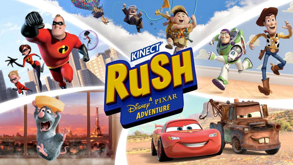 Rush: A Disney Pixar Adventure - Лучшие игры для Xbox One для детей