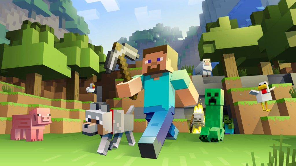 Minecraft (2009) - Лучшие игры для Xbox One для детей