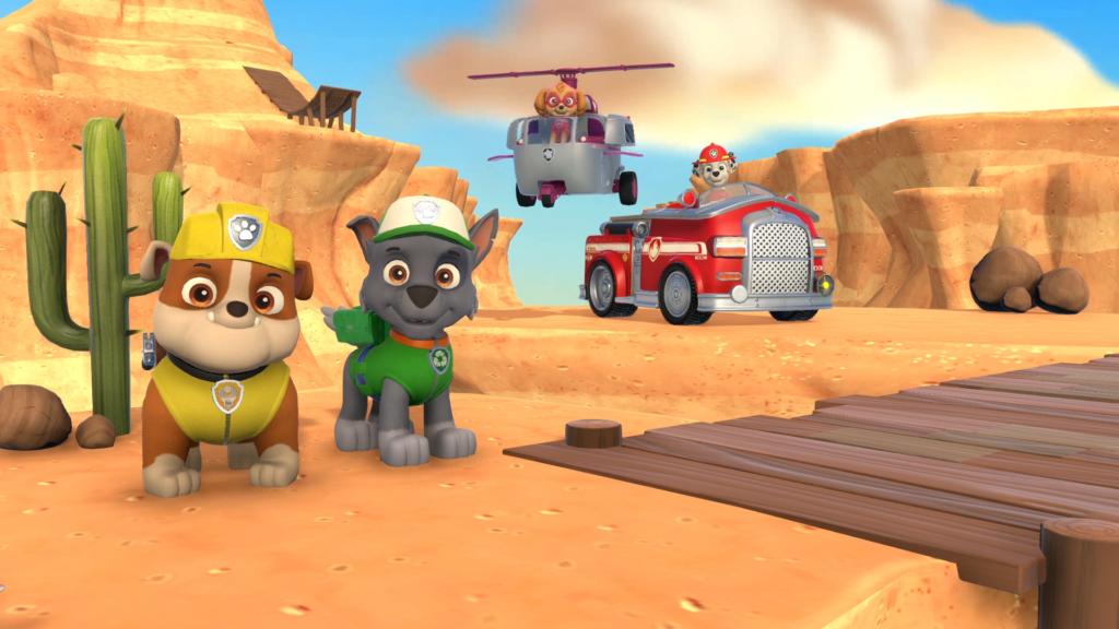 Щенячий патруль: вступает в бой!  - лучшие игры для Xbox One для детей