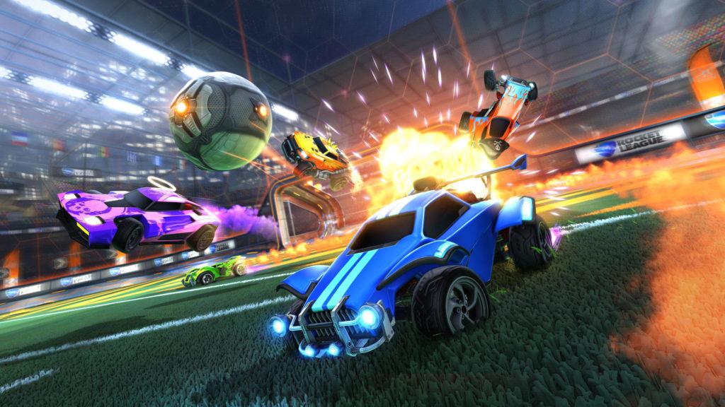 Rocket League - Лучшие игры для Xbox One для детей