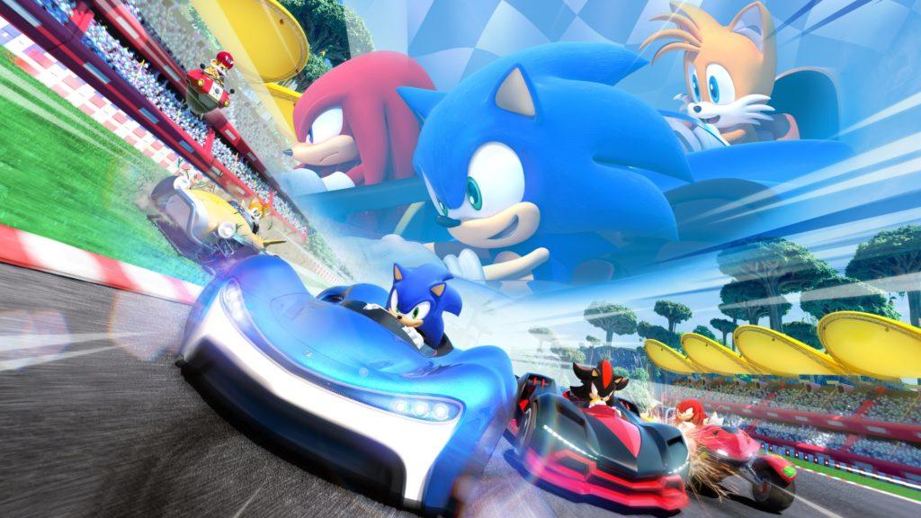Team Sonic Racing - лучшие игры для Xbox One для детей